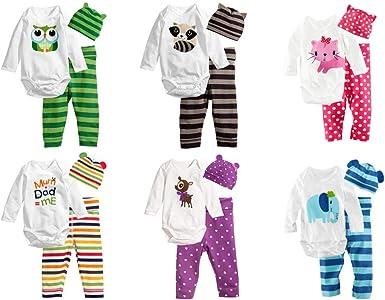 Conjunto de Pijamas – Body y Pantalones de Animal con ...