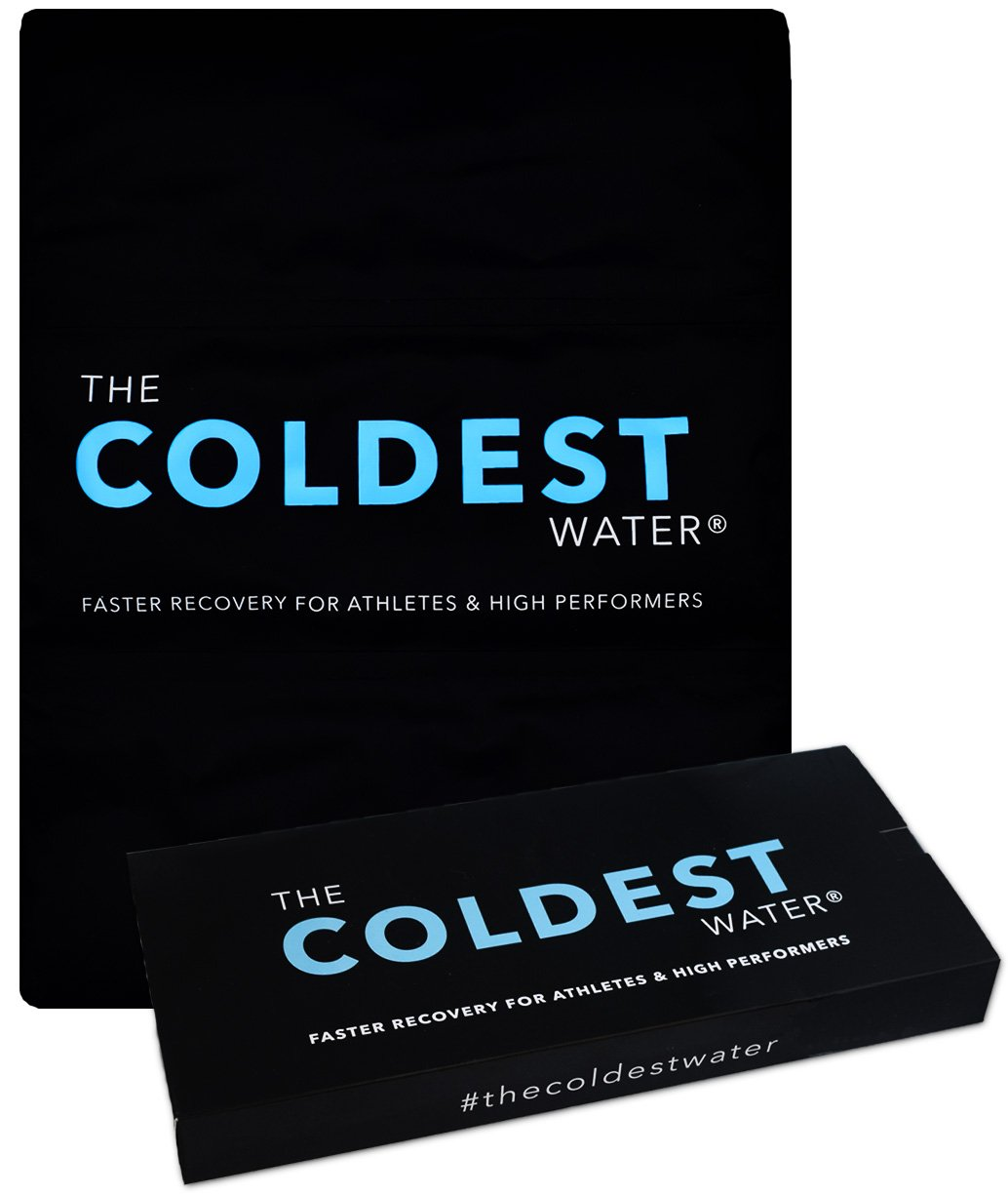 The Coldest Ice Pack Gel Reusable Flexible Therapy Best For Back Pain Leg Arm Knee Shoulder Sciatic Nerve Recovery Medical Grade X-Large Big Compress 15'' x 12'' by The Coldest Water