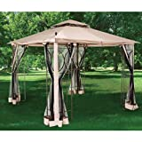 2010 Nantucket 10 x 10 Gazebo Replacement Canopy – RipLock 350 For Sale