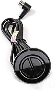 Pro Furniture Parts Limoss OEM Recliner 2 Flat/Flush Button Round Electric Power Switch Handset w/ 5 Prong Plug