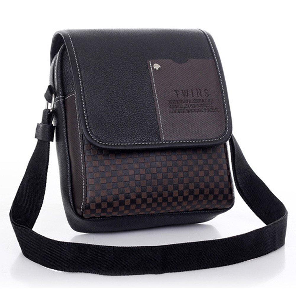 high-quality Dickin Men's Synthetic Leather Bag Handbag Shoulder Bag Messenger Briefcase Bag