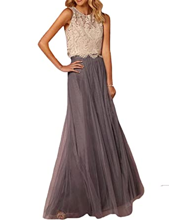 O.D.W.Long Bridal Formal Prom Dresses Boho Party Wedding Bridesmaid Gowns UK16: Amazon.co.uk: Clothing