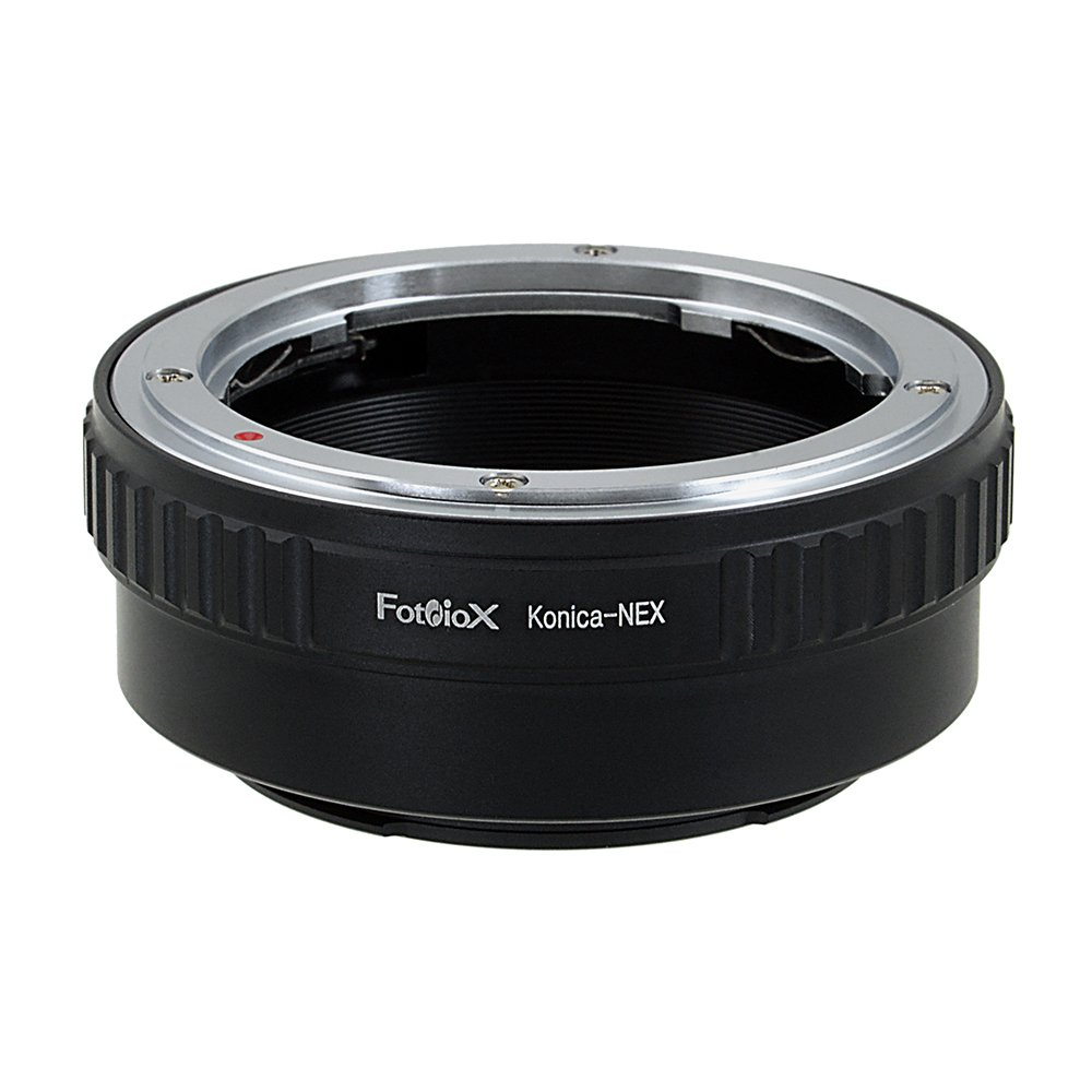 Fotodiox Lens Mount Adapter, Konica AR Lens to Sony NEX E-mount Mirrorless Camera such as Sony Alpha a7, a7R, NEX-7 & NEX-5 AR-SnyE