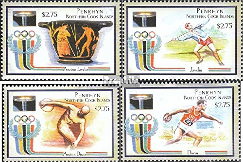 - Penrhyn 600-603 (Complete.Issue.) 2000 Olympics Summer 2000 (Stamps for Collectors) Olympic Games