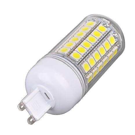 G9 15 W blanco 69LED 5050 SMD Corn bombillas lámpara luz respetuosa con el medio ambiente
