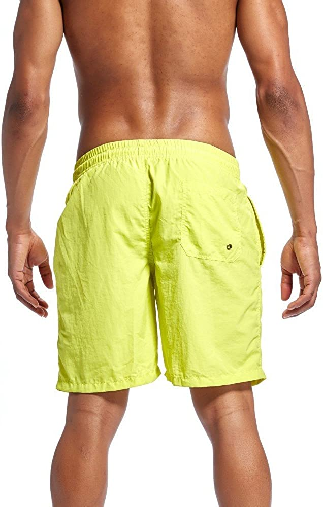 POHOK Men Five Pants Casual Mens Shorts Swim Trunks Beach Surfing Running Swimming Quick Drying Water Shorts