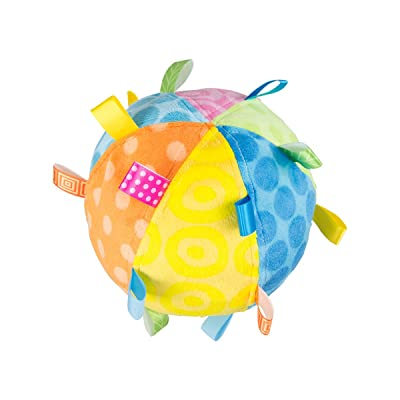 Mary Meyer Taggies Plush Toss The Taggies Chime Ball, Colors : Baby Plush Toys : Baby