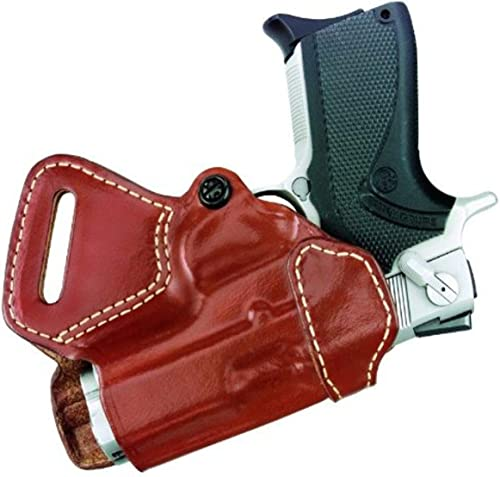 "Gould & Goodrich 806-195 Gold Line Small Of Back Holster (Chestnut Brown) Fits most 1911-type pistols with 4"" to 5"" bbl incl. BROWNING HP;..."
