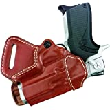 """Gould & Goodrich 806-195 Gold Line Small Of Back Holster (Chestnut Brown) Fits most 1911-type pistols with 4"""" to 5"""" bbl…"""