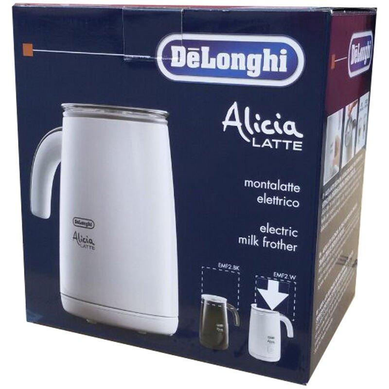 DeLonghi EMF 2.B - Espumador de leche, 100 ml, color negro: Amazon ...