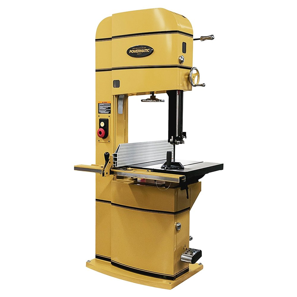 Powermatic 2415 5 HP 3-Phase Bandsaw (24-Inch) Review 1