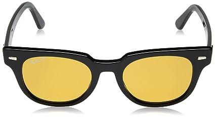 573a1f60cf Amazon.com  Ray-Ban Meteor Polarized Iridium Square Sunglasses ...