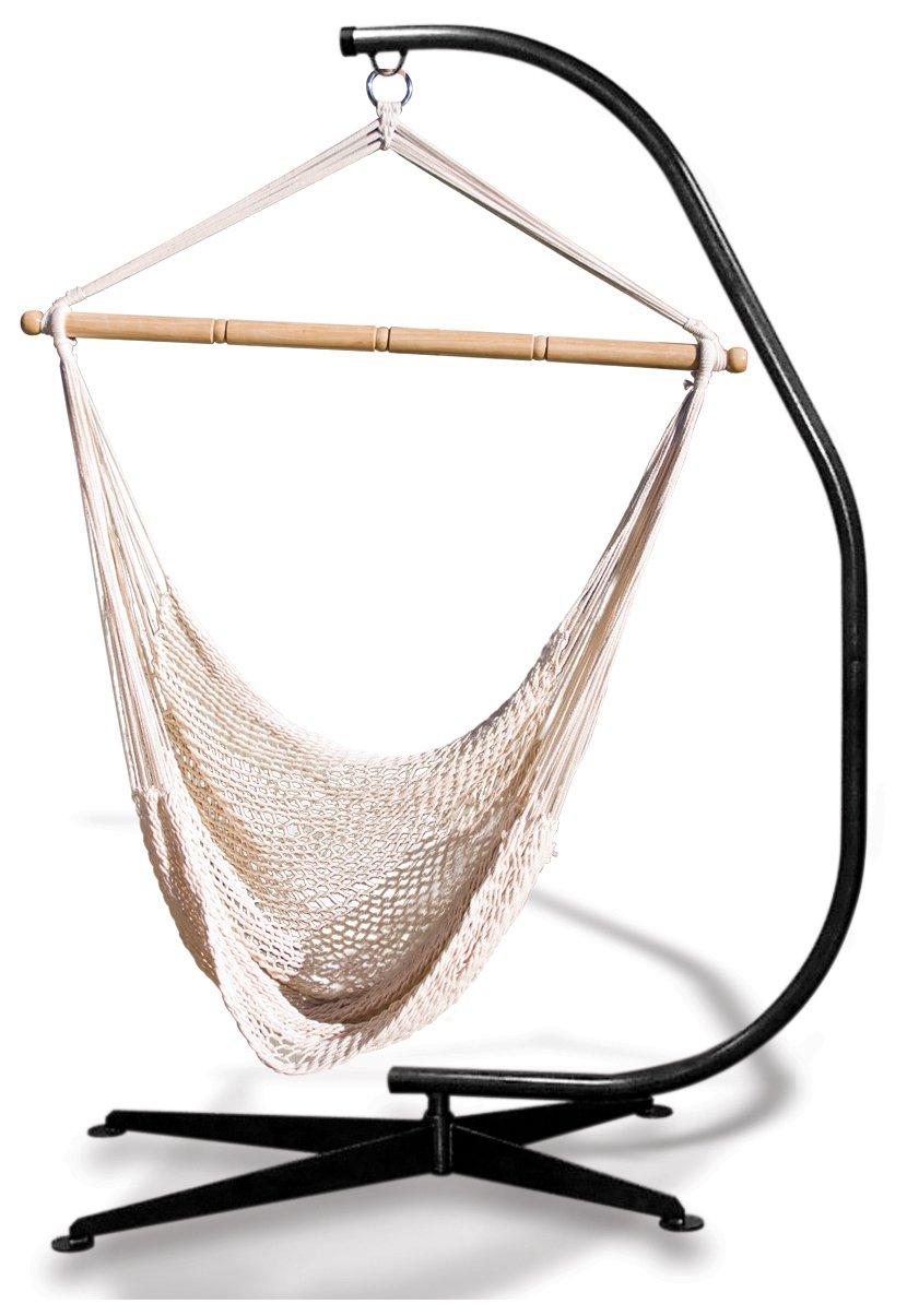 Amazon.com : Hammaka Suelo Stand Combo and Net Chair Combo : Garden &  Outdoor