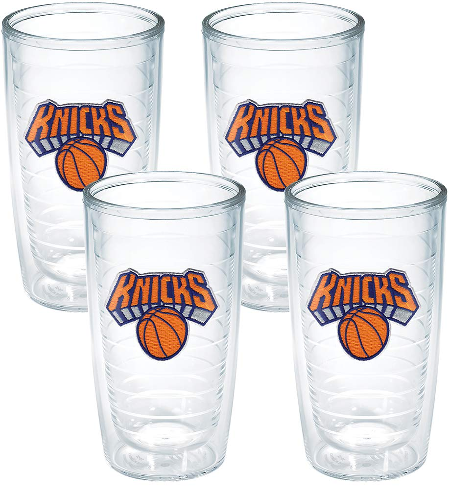 Tervis 1059380'NBA New York Knicks' Tumbler, 16 oz, Clear