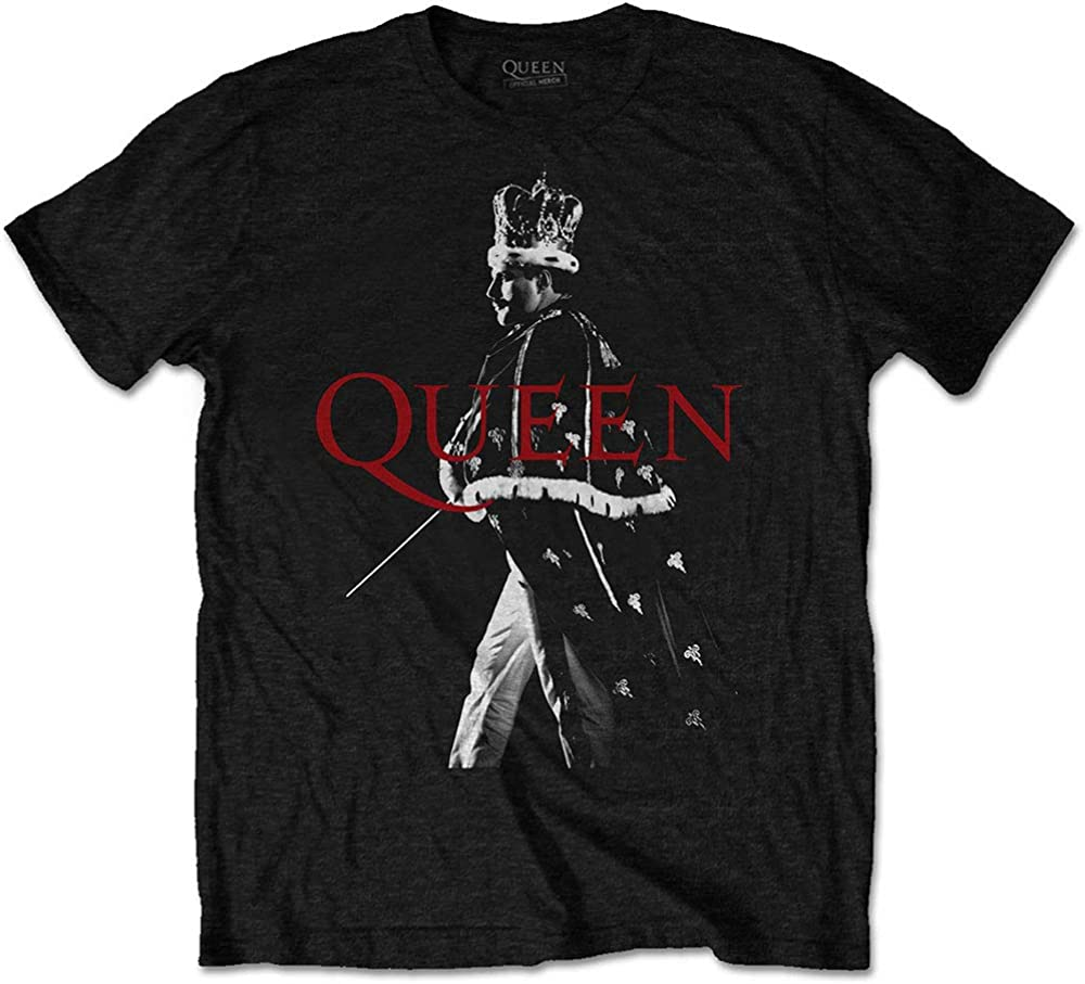 FREDDIE CROWN T-Shirt QUEEN Official Merchandise Freddie Mercury,