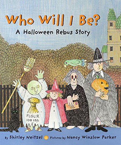 Who Will I Be?: A Halloween Rebus Story -