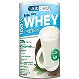 Country Life - Biochem Sugar - 100% WHEY Protein - COCONUT - Sugar Free - 20g of Protein(11.2 Ounce)