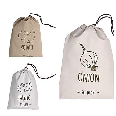 3 Piece Set Reusable Storage Food Bags Keep it Fresh Up to 4 Weeks