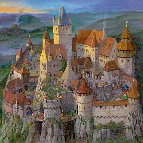 Die Ritterburg im Mittelalter - Puzzle