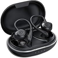 Ecouteur Bluetooth, Muzili IPX7 Écouteur sans Fil Sport Étanche 3D Hi-FI Son Stéréo, Anti-Bruit CVC 8.0, 80 Heures Durée de Lecture Oreillette Bluetooth 5.0 pour iOS Android Huawei Mate 10