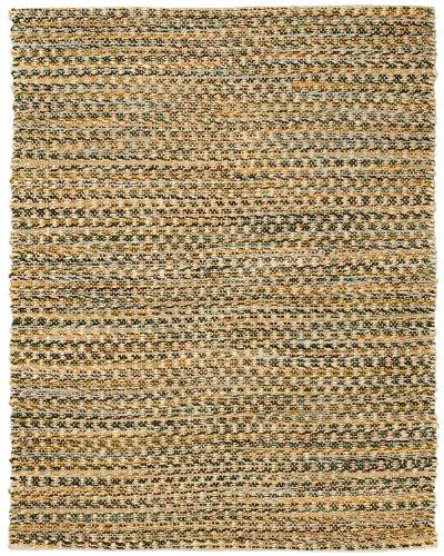 Anji Mountain AMB0331-0058 Ilana Jute and Chenille Cotton Area Rug, Natural, 5 x 8-Feet