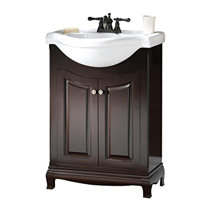 Foremost PAEA2534 Palermo Contemporary Bathroom Vanity, 25 5/8 In W X 18