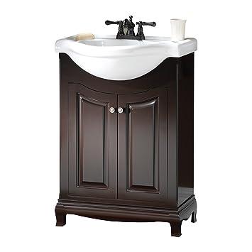 Foremost Paea2534 Palermo Contemporary Bathroom Vanity Espresso