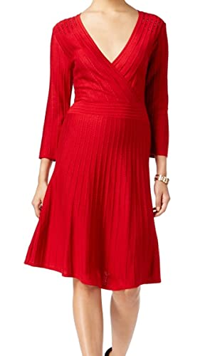 Nine West Womens Embellished Holiday Party Dress