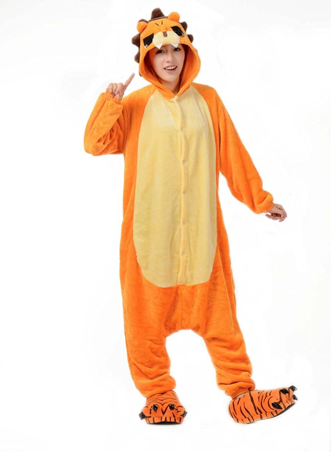 Unisex Adult Kigurumi Animal Cosplay Costume Novelty Pajamas Onesies Adult Anime Cartoon Party Christmas Halloween Costume