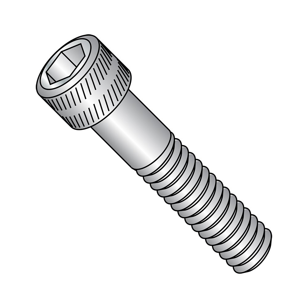 Pack of 100 US Made Hex Socket Drive Partially Threaded Stainless Steel Socket Head Cap Screw 3//8-16 Thread Size 3//8-16 Thread Size 1-3//4 Length Small Parts 3728CSSS 1-3//4 Length