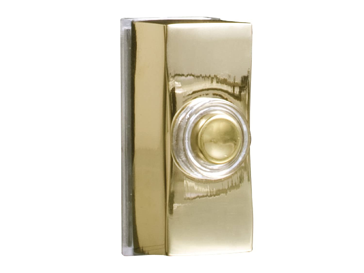 Byron Wired Bell Push Surface Mounted - Chrome BYR7960C