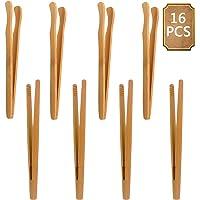 BETOY Pinzas Bambú, 16 Piezas Pinza de Bambú