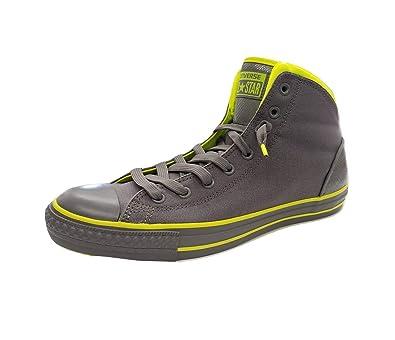 aea91d7b6e84 Converse Men s CT Street HI Charcoal Gray Neon Skateboarding Shoes 141395C  (US ...