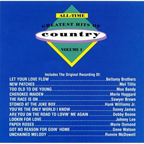 All Time Greatest Hits Of Country