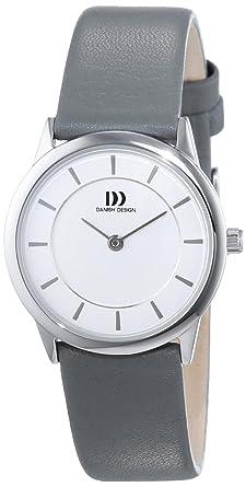 Danish Damen 3324551 Quarz Analog Design Armbanduhr Leder dxeBroCW