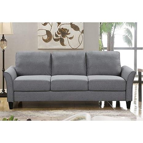 Amazon.com: ZHONGYUE Sofa, Living Room Furniture 3-Seat Sofa ...