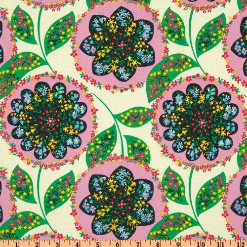 Amy Butler Lark Glamour Charisma Blush Pink Fabric