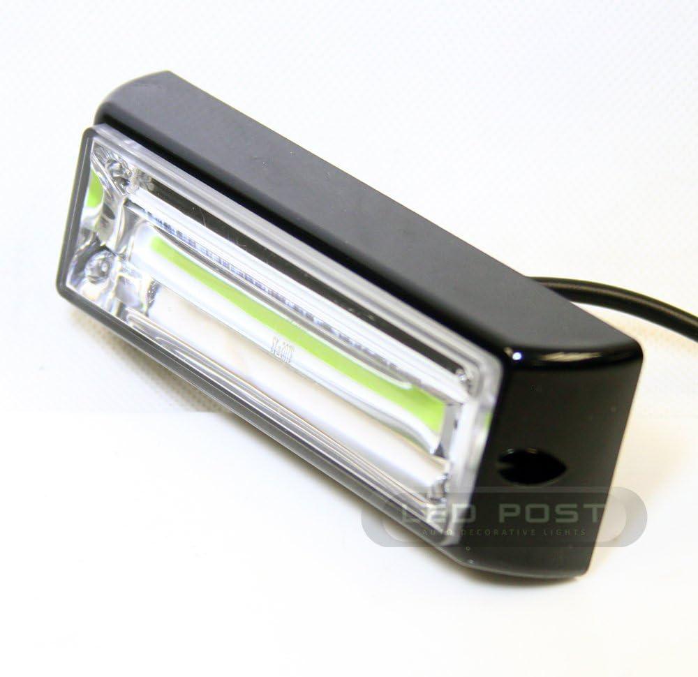 "32/"" 48 ultra bright LED Linear Interior LED Dash Light in AMBER Emergency light"