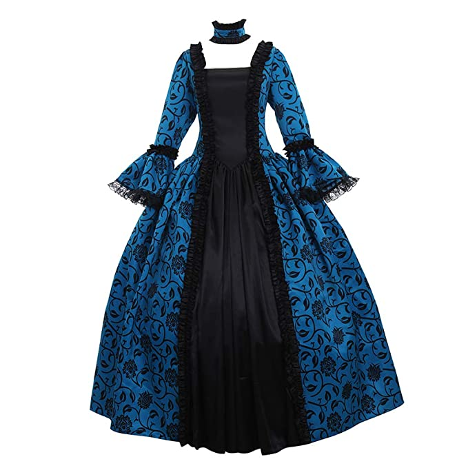 Amazon.com: 1791s Lady NQ0032 - Disfraz de mujer victoriana ...
