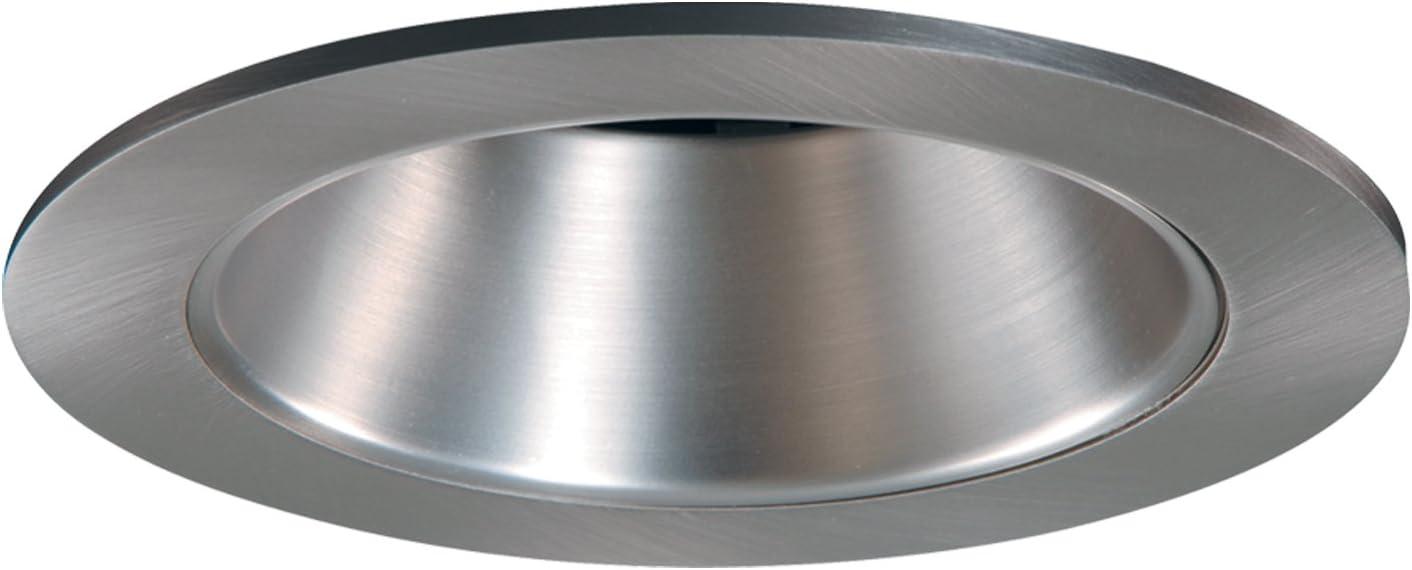 HALO Recessed 3004SN 3-Inch 35-Degree Adjustable Trim with Satin Nickel Reflector Satin Nickel