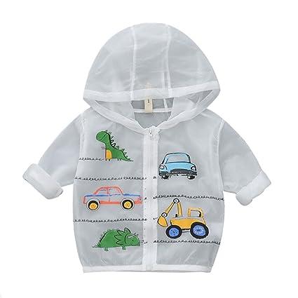 55730deb3b00 Amazon.com   QCHOMEE Kids Sun Protection Clothing Unisex Kids Cute ...