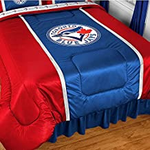 MLB Toronto Blue Jays Twin Comforter Baseball Bedding
