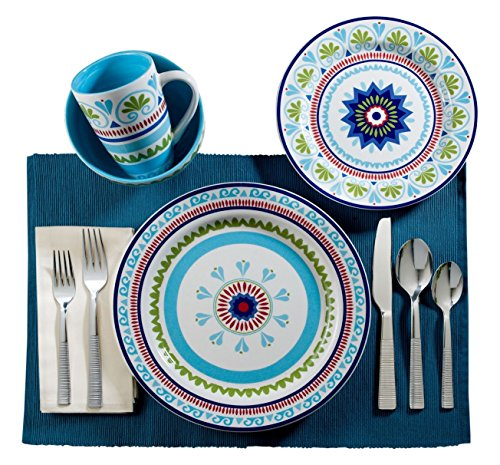 Euro Ceramica Marrakesh Dinnerware 16pieces Set