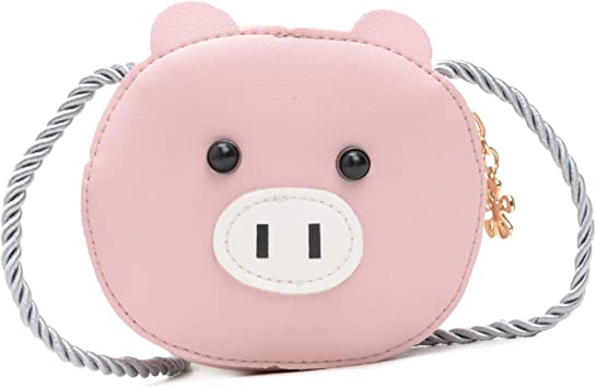 Small Mini Coin Purse PU Leather Bag Gift for Kid Luyy Cute Toddler Kids Crossbody Purse Messenger Bag for Girls Boys