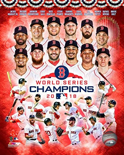 Boston Red Sox 2018 MLB World Series Champions Composite Photo Size: 8 x 10