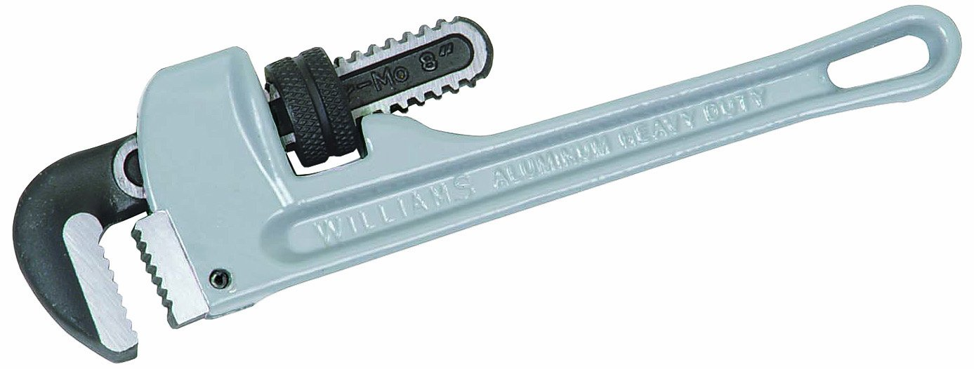 Williams 13500 Aluminum Pipe Wrench, 8-Inch JH Williams Tool Group