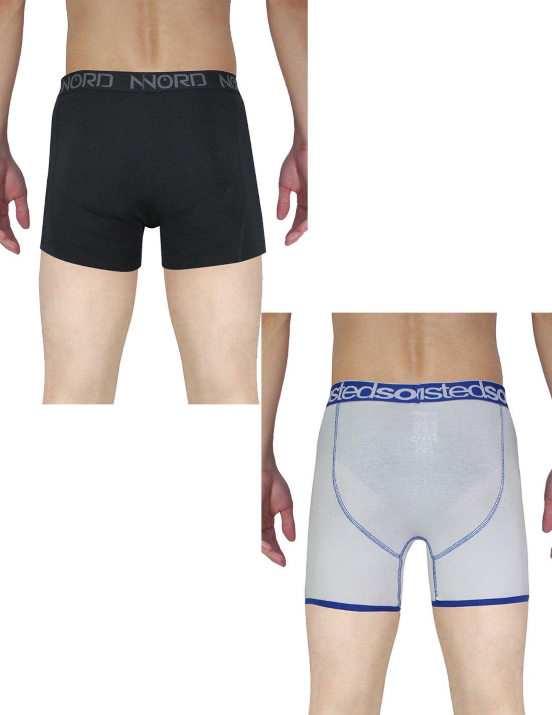 (Pack of 2) Herren Finest Komfortable Fit Boxershorts / Unterwäsche XL  schwarz & White: Amazon.co.uk: Clothing