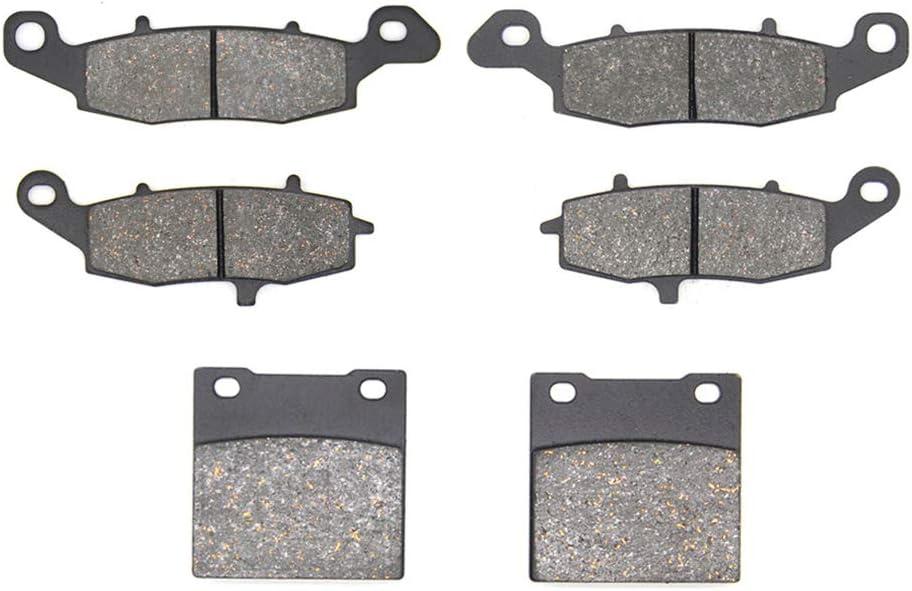 //GSX 600 F//GSX 750 F Katana/ 98-06 98-03 //SV 400 SV 650/X//Y//K 99-02 //GSF 600 Naked Bandit//Faired Bandit/ 00-04 MEXITAL Plaquettes de frein semi-m/étallique Avant et Arri/ère pour GSX 750 W//X//Y