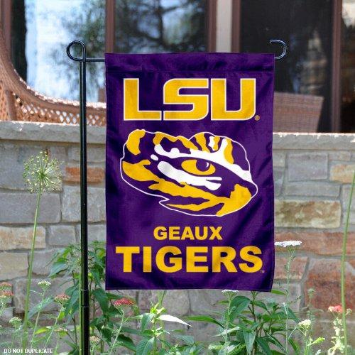 LSU Garden Flag and Yard Banner - Lsu Tigers Hanging