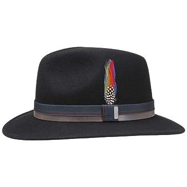 bf144b8c8d8 Stetson Parlesto Traveller Wool Felt Hat M -XXL